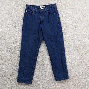 Vintage LL Bean Double L Fleece Lined Jeans 34 A30